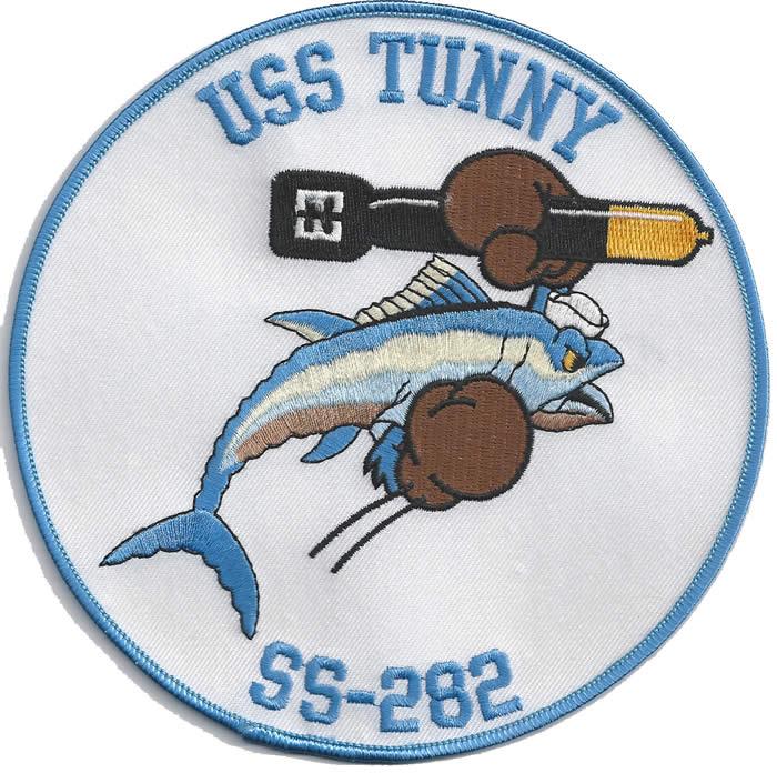 Tunny SS 282 WW II Ships Insignia