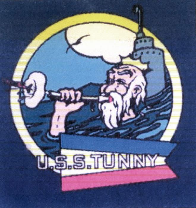 Tunny Ships Patch 1953-1955