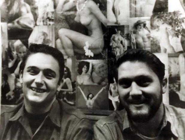 William Edwards and John Hooper Cutler - Wardroom 1962 or 1963