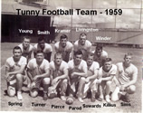 Tunny's 1959 Football Team