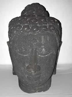 Buddah Head 1 Front View
