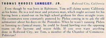 Thomas Rhodes Langley, Jr.