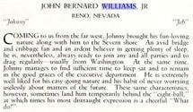 John Bernard Williams II