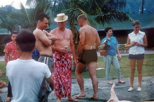 Tunny Luau about 1959 Bellows Air Force Base