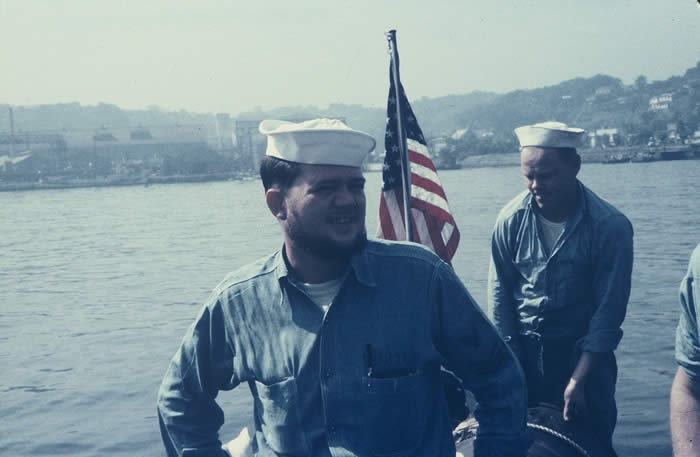 Raymond J. Porter (left) Unknown EN1(right)