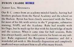 Byron Crabbe Ruble