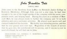 John Franklin Tate